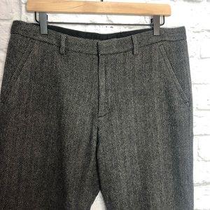 Armani Exchange Wool Blend Dress Pants
